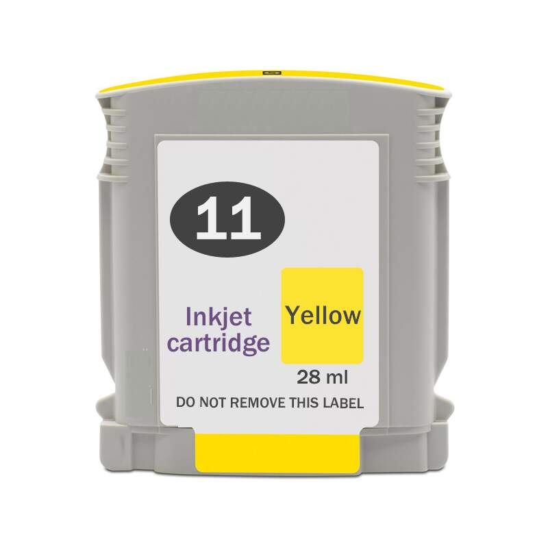 Cartucho de Tinta HP Yellow Compatível HP 11 | HP 4838 - 28ml