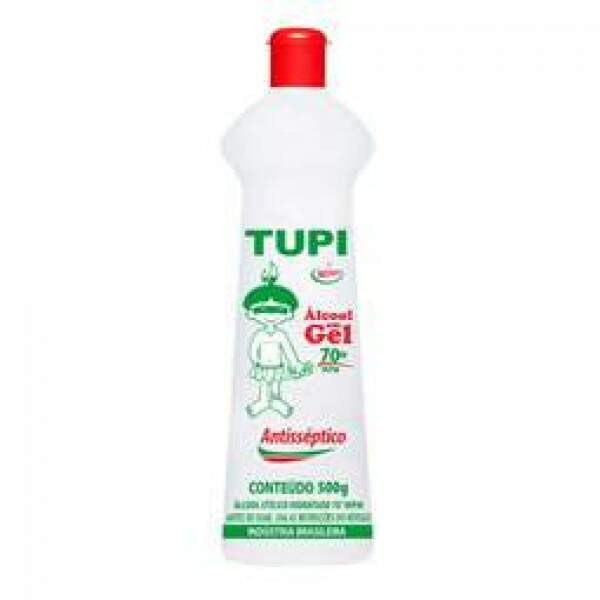 ÁLCOOL GEL 500ML 70º TUPI