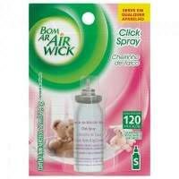 ODORIZADOR BOM AR TALCO CLICK SPRAY REFIL 12ML AIR WICK