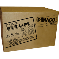 ETIQUETA SPEED LABEL REF. SLA41070 1.000 FOLHAS PIMACO