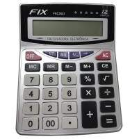 CALCULADORA 12 DIGITOS PILHA REF. FXC2523 FIX
