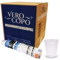 COPO 300ML TRANSPARENTE VERO COPO PS CX/2000