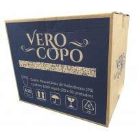 COPO 500ML TRANSPARENTE VERO COPO CX/1000