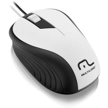 Mouse Wave Branco MO224 USB Multilaser