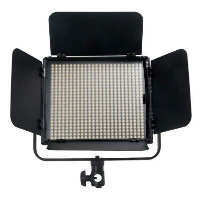 Iluminador Led Video Light Hs-600mb Pro Com Bateria e Carregador