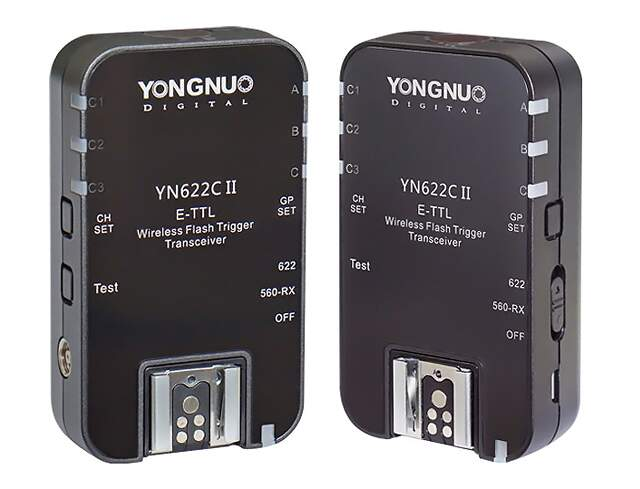 Kit Radio Flash Yongnuo YN622C II para Canon