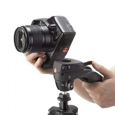 Tripé Manfrotto Mkcompactacn-bk Compact Action Black