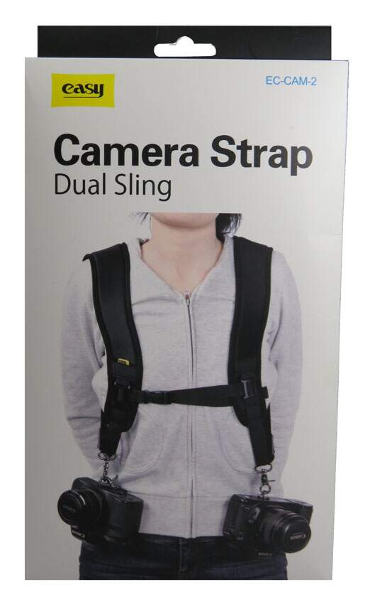 Alça Dupla Tiracolo - Double Strap Dual Sling SC-CAM-2 Easy