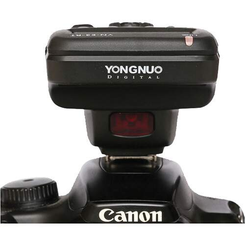 Radio Flash Yongnuo YN-E3-RT para Canon