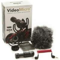 Microfone Rode VideoMicro Compact On-Camera