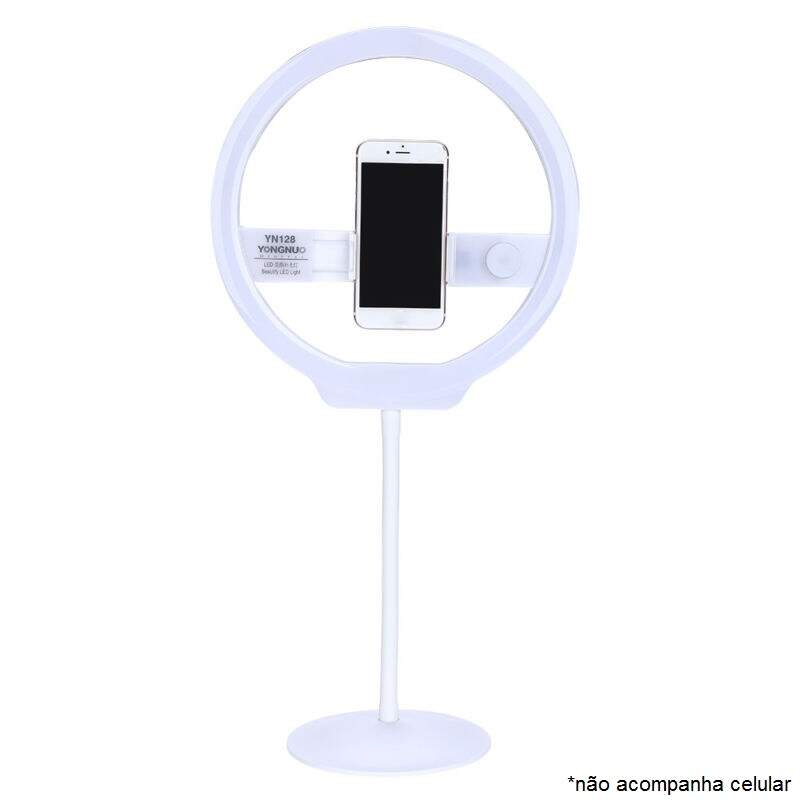 Iluminador de Led Yongnuo Yn128 Ring Light para Celular
