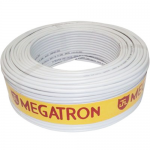 CABO COAXIAL RG59 75 OHMS 67% - 100 MTS / BRANCO - 005941 - MEGATRON