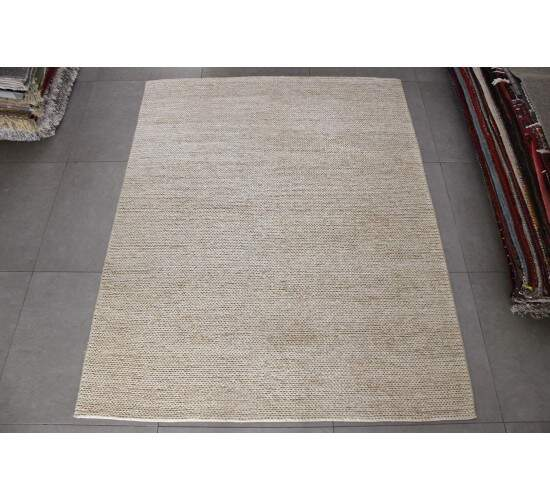 Tapete Indiano Sisal Natural Feito A Mão 2,00 x 3,00m