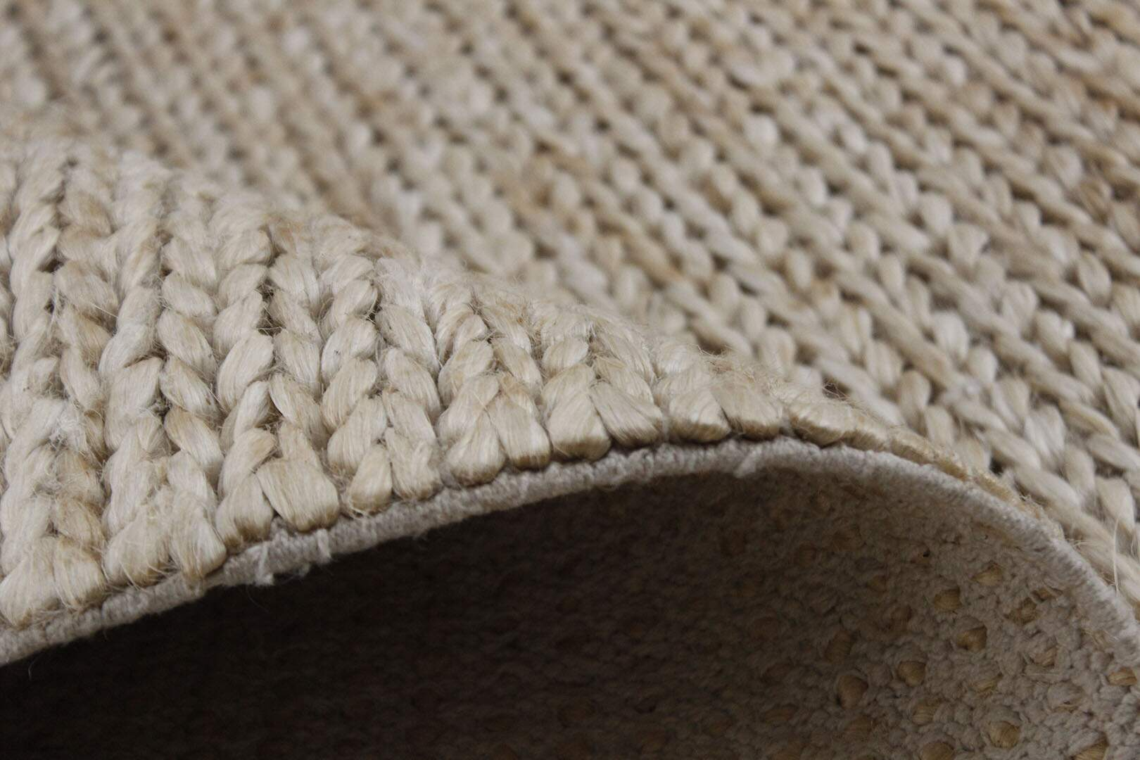 Tapete Indiano Sisal Natural Feito a Mão 2,50 x 3,00m
