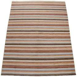 Tapete Indiano Kilim Surate Multi Colorido 2,50 x 3,00m