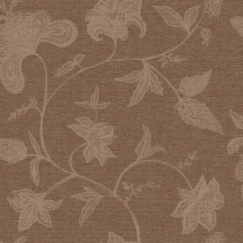 Papel de Parede Natural Bobinex 1409 Floral Chocolate