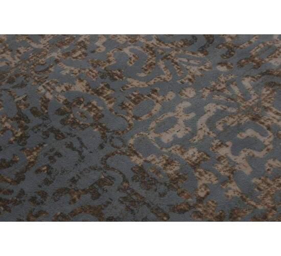 Tapete Turco Moderno Jade Reloaded Azul Bege 3,00 x 3,00m