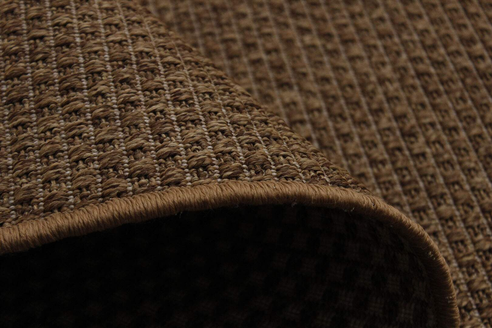 Tapete Sisal Bélgica Nature Liso Caramelo 1,00 x 1,50m