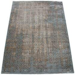 Tapete Turco Moderno Jade Reloaded Azul Bege 2,50 x 3,00m