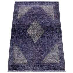 Tapete Persa Reloaded Vintage Roxo 1,20 x 1,85m