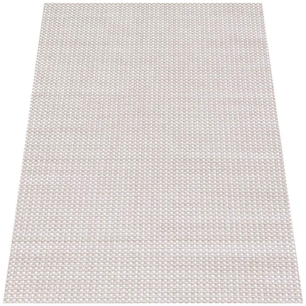 Tapete Turco Sisal Moderno Geométrico Small Cubes Bege 2,50 x 3,00m
