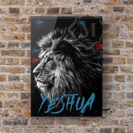 Quadro Canvas - Yeshua Blue