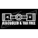 Adesivo Air cooled tax free