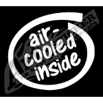 Adesivo Air cooled inside