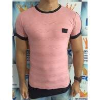 Camiseta Recruta Oversized Rosa