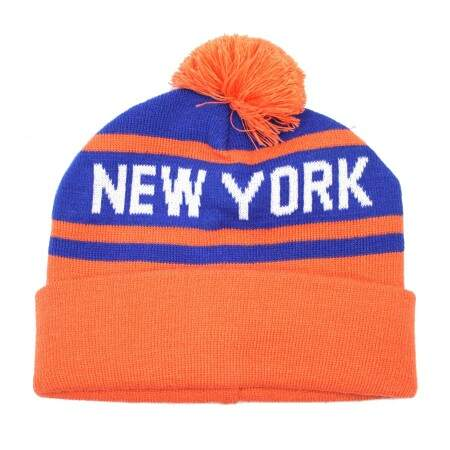 Touca City Collection New York Laranja/Azul