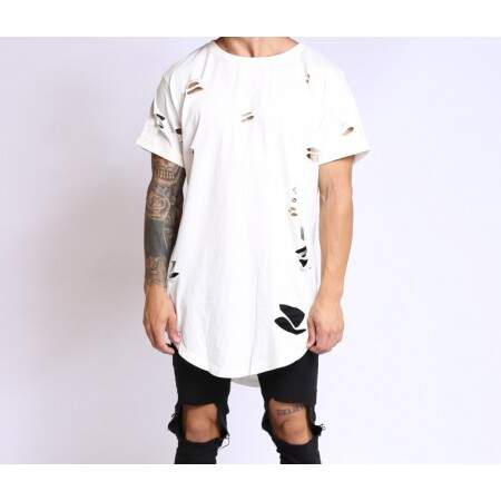 Camiseta TakeOver47 Oversized Bege