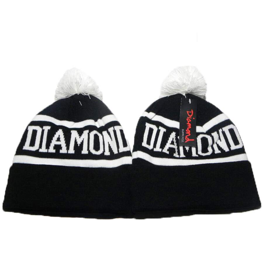 Touca Diamond Logo Black/White