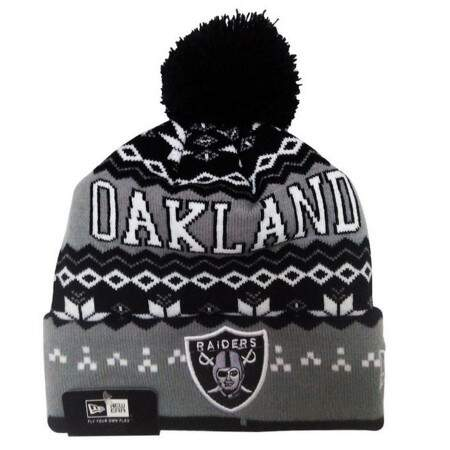 Touca New Era Oakland Raiders Black/Gray