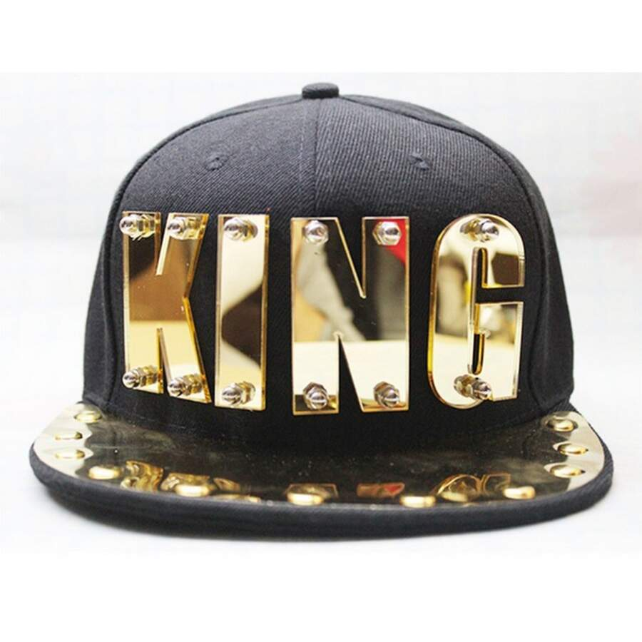 Boné Snapback Casual KING Black