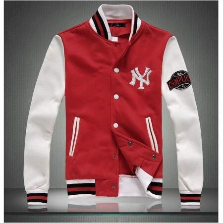 Jaqueta MLB College Varsity New York Yankees Company Red