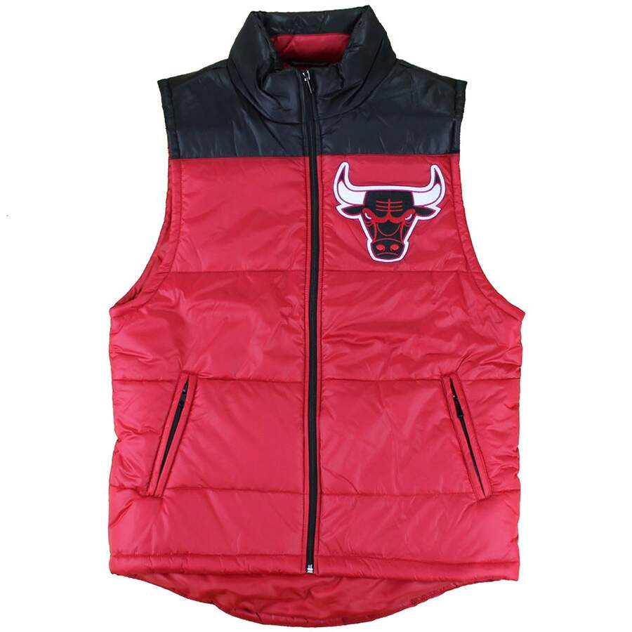 Colete Mitchell and Ness NBA Chicago Bulls Red