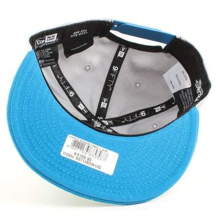 Boné New Era 9FIFTY Snapback Leonardo Blue/Gray