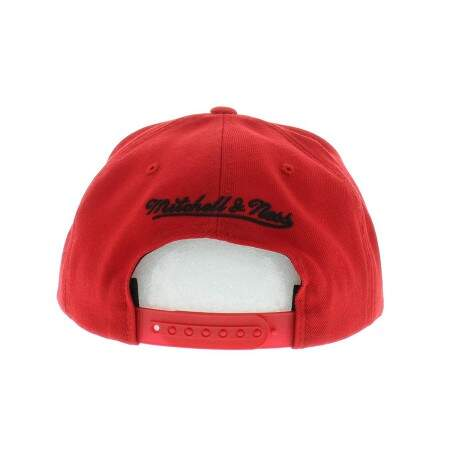 Boné Mitchell and Ness Snapback Chicago Bulls Red