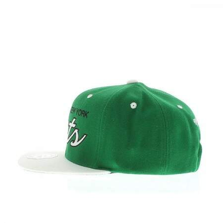 Boné Mitchell and Ness Snapback New York Jets Green/White