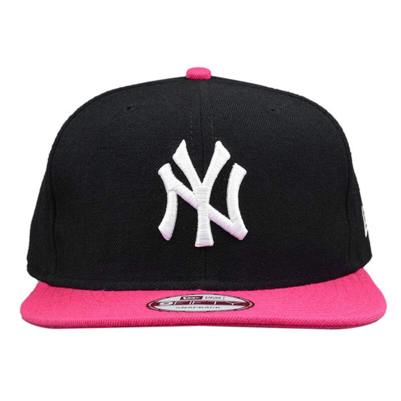 Boné New Era 9FIFTY Snapback New York Yankees Preto/Rosa