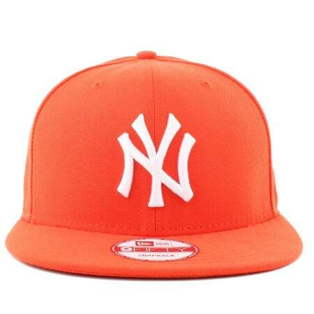 Boné New Era 9FIFTY Snapback New York Yankees Laranja