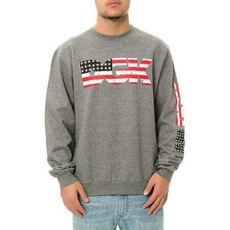 Moletom DGK Flag EUA Gray