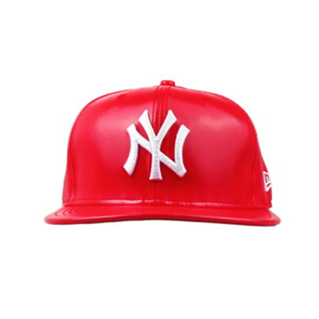 Boné New Era 9FIFTY Snapback New York Yankees Couro Red