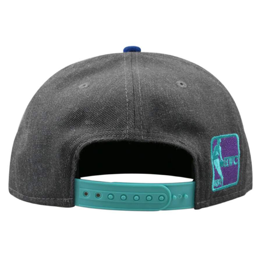 Boné New Era 9FIFTY Snapback Charlotte Hornets Flannel Gray/Light Blue