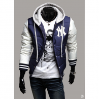 Jaqueta MLB College Varsity New York Yankees Navy