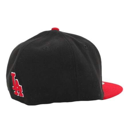 Boné New Era 59FIFTY Los Angeles Dodgers Black/Red
