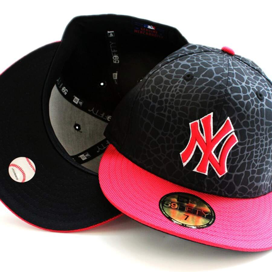 Boné New Era 59FIFTY New York Yankees Black/Red