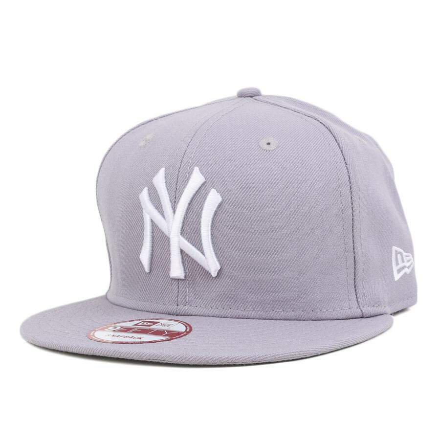 Boné New Era 9FIFTY Snapback New York Yankees Cinza
