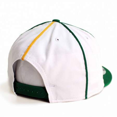 Boné New Era 9FIFTY Snapback Los Angeles Dodgers Interchangeable White/Green/Yellow