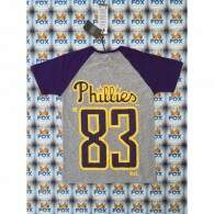 Camiseta New Era Philadelphia Phillies Gray/Purple/Yellow